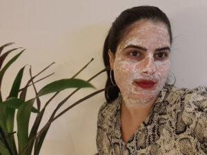 מסכת אורז טיפול פנים טבעי
